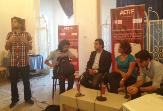 Table ronde sur le cyber-activisme
