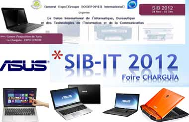 SIB-IT 2012 : L'Asus, attraction principale du salon