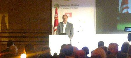Freedom Online Conférence : «La réussite de la Tunisie aura un impact très profond sur le monde arabe»