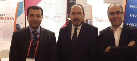 En direct de Barcelone : Le Pavillon tunisien au MWC2014 inauguré par le ministre des TIC