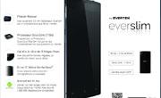 Evertek affirme avoir lancé le Smartphone le plus fin du monde