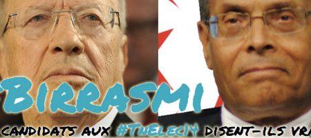 2ème tour Présidentielle 2014 : Un site Web publie le baromètre du mensonge de BCE et de Marzouki