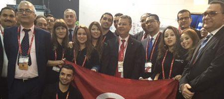 En direct de Barcelone : Le ministre des TIC inaugure le pavillon tunisien au MWC