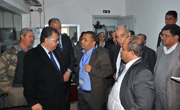 Remada : Visite officielle du ministère au centre de télédiffusion de l'ONT