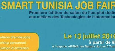 Smart Tunisia Job Fair : 300 postes d'emploi disponibles pour un recrutement immédiat