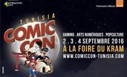 Comic Con Tunisia : 1er salon de la Bande Dessinée, des Arts Numériques, Jeux Vidéo et Pop Culture