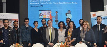 Yunus Social Business signe un accord avec Orange pour booster l'entreprenariat TIC social en Tunisie