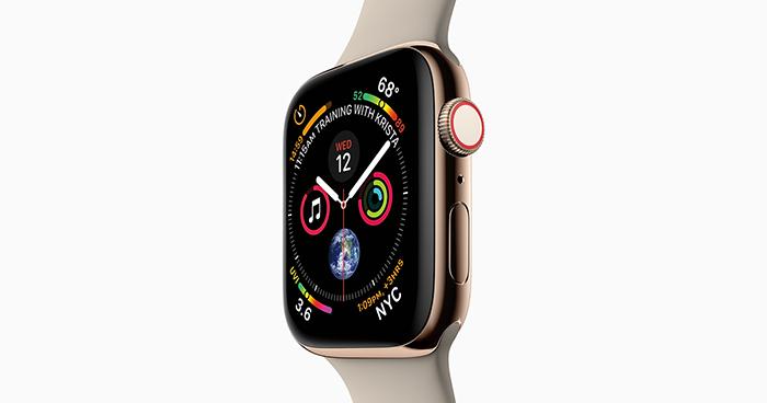 983732d6ebbd7 Meilleurs accessoires connectés 2018   Apple Watch Series 4 en tête ...