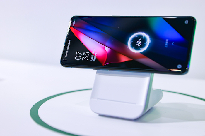 MagVOOC wireless flash charging stand